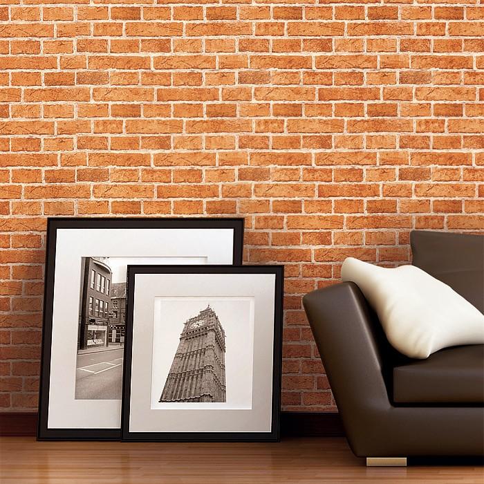 steintapete edem 583 23 rustikale design vinyl tapete klassische vintage optik mauerstein. Black Bedroom Furniture Sets. Home Design Ideas