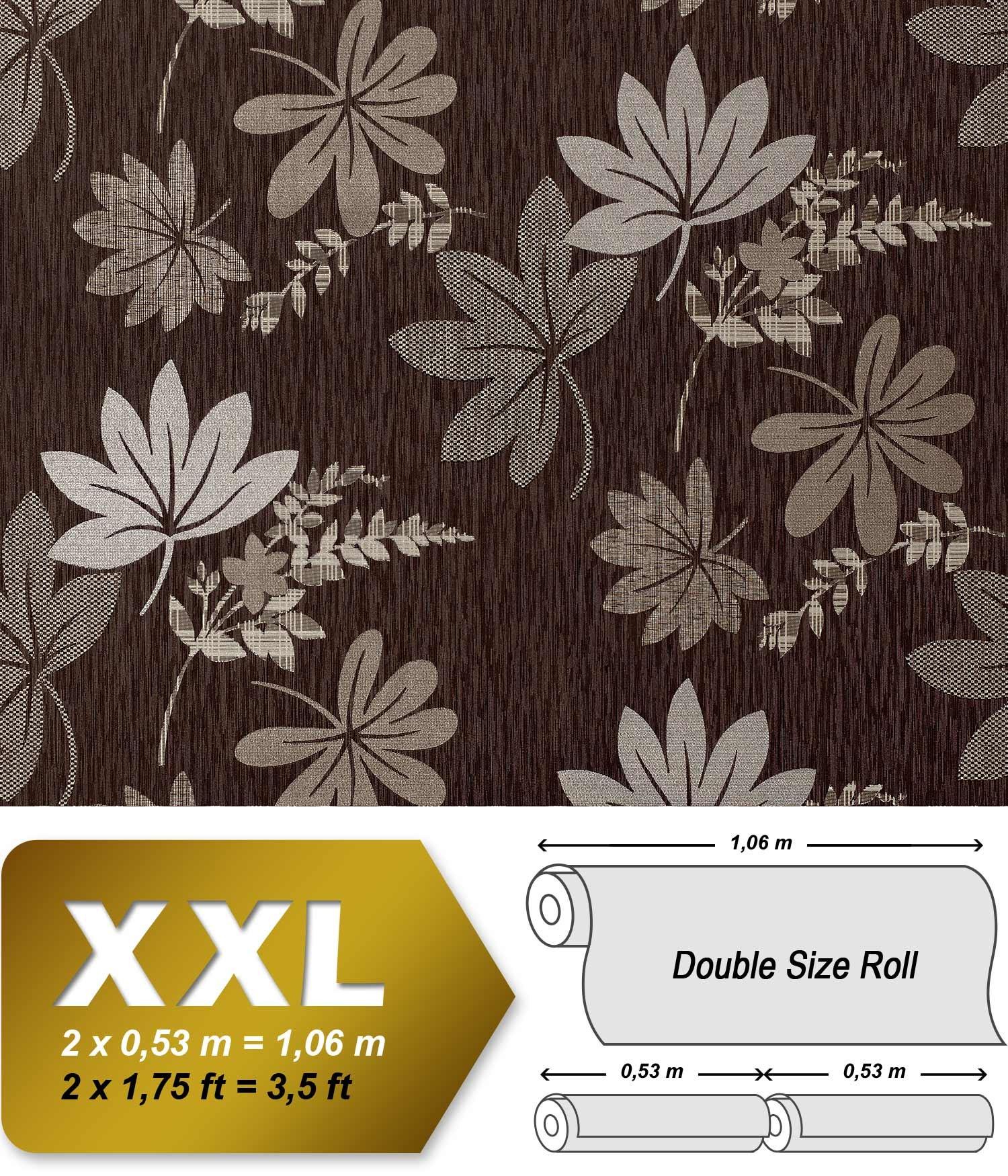 Carta da parati xxl non tessuto edem 641 94 floreale for Behang per m2