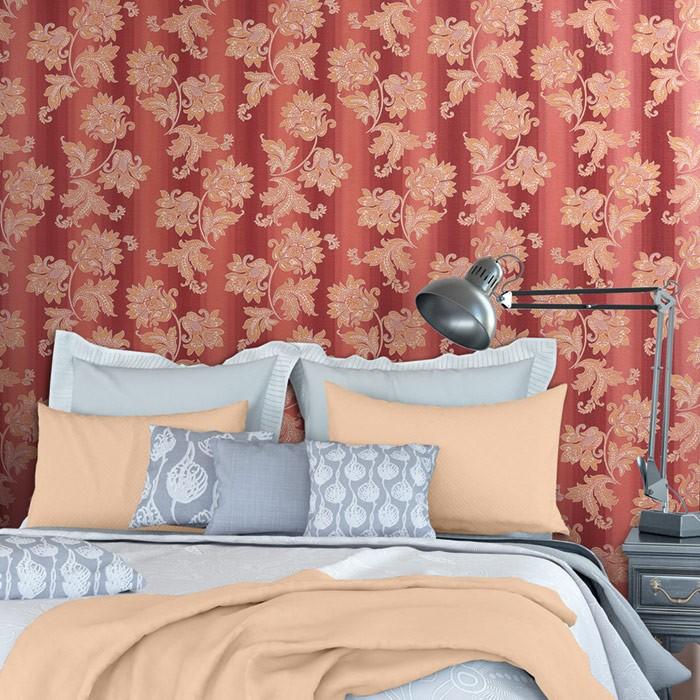Blumentapete edem 084 26 tapete floral designer barock for Tapete flieder grau