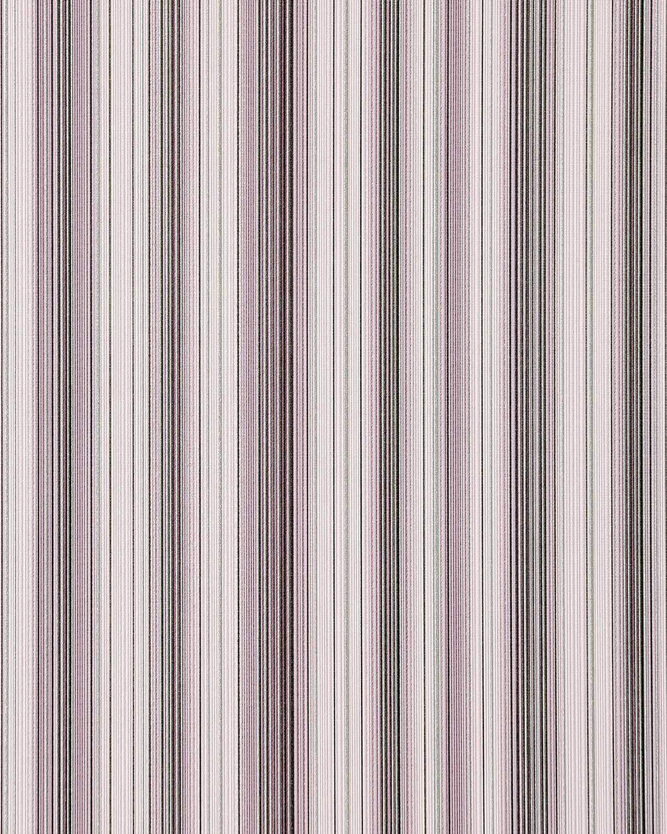 Carta da parati vinilica edem 097 24 a strisce disegno a for Carta parati a righe