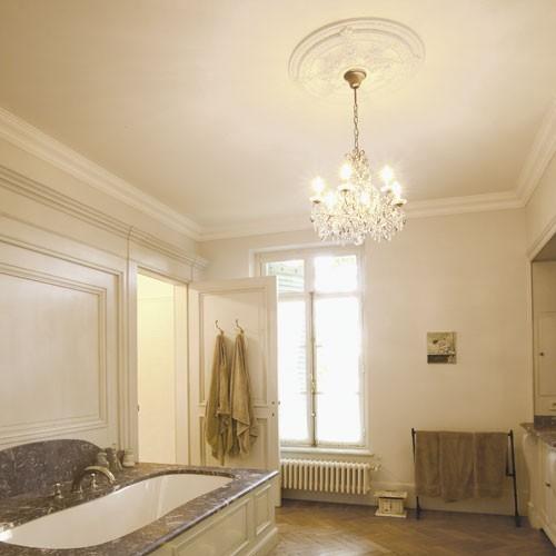 Cornici Soffitto e Parete stucco decorativo Cornicione Orac Decor C333 LUXXUS