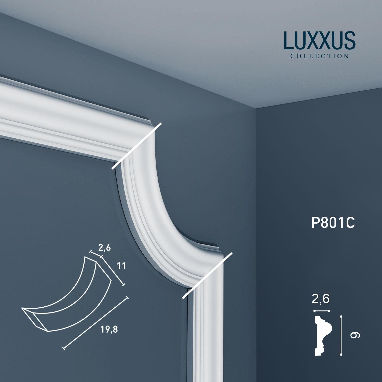 Elemento angolare decorativo per cornici da pareti Orac Decor P801C LUXXUS soffitti specchi