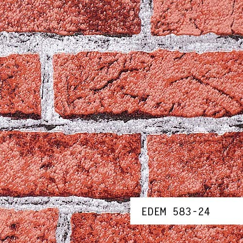 Campione di carta da parati 583 serie muro di mattoni for Carta da parati muro di mattoni