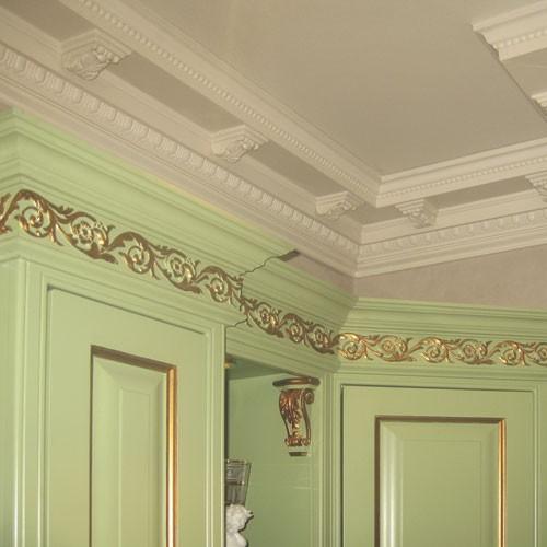 Cornici soffitto e parete stucco decorativo cornicione - Stucco decorativo per pareti ...