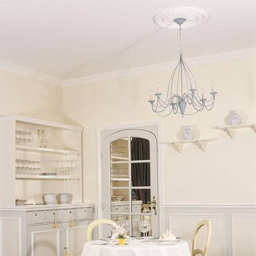 Rosone soffitto parete in poliuretano Orac R46 LUXXUS decorazione per interni d 53,50 cm